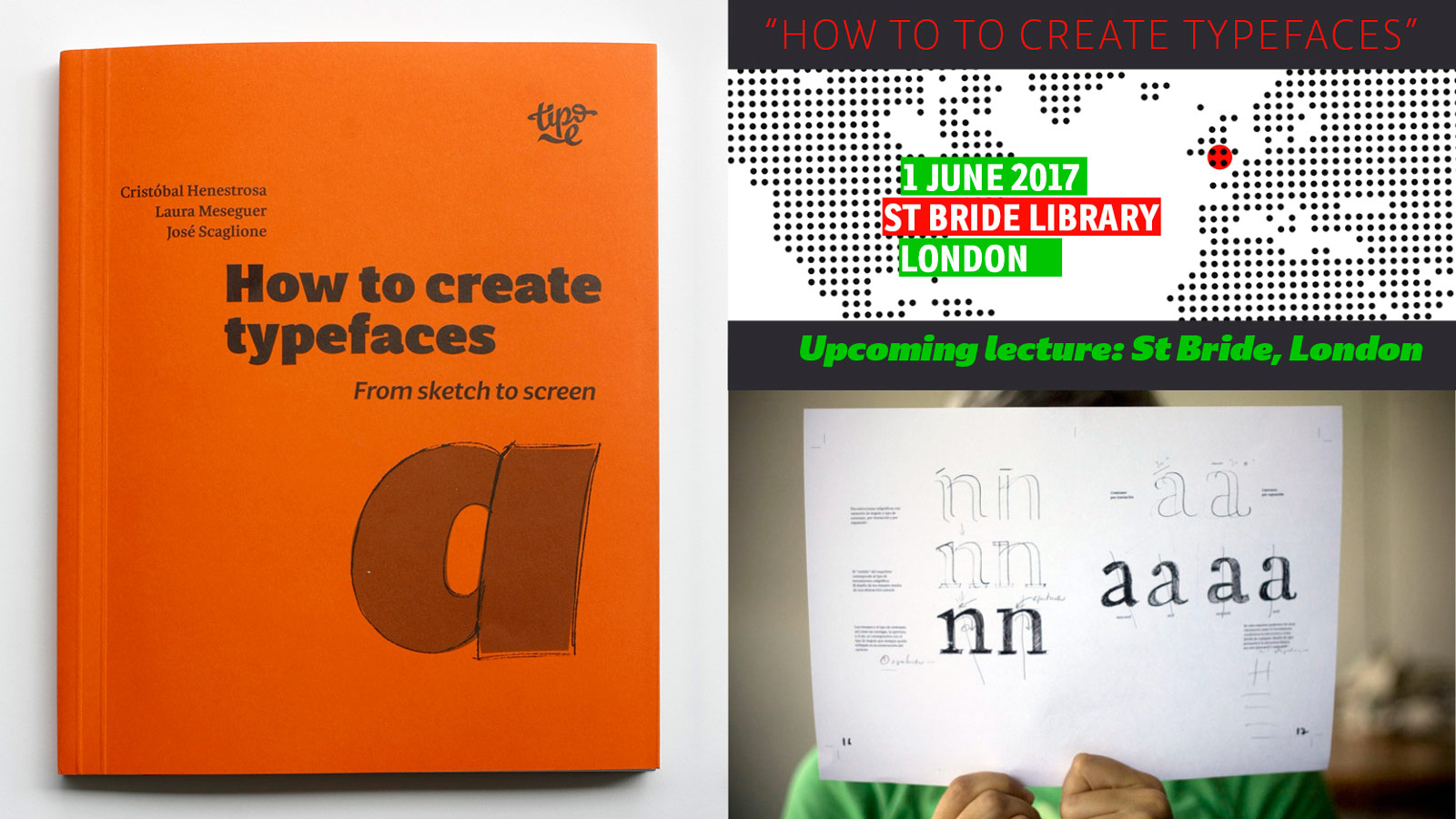 How to create typefaces