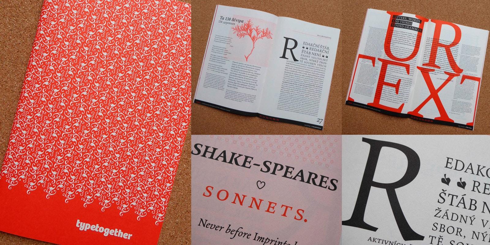 Book Type Catalogue