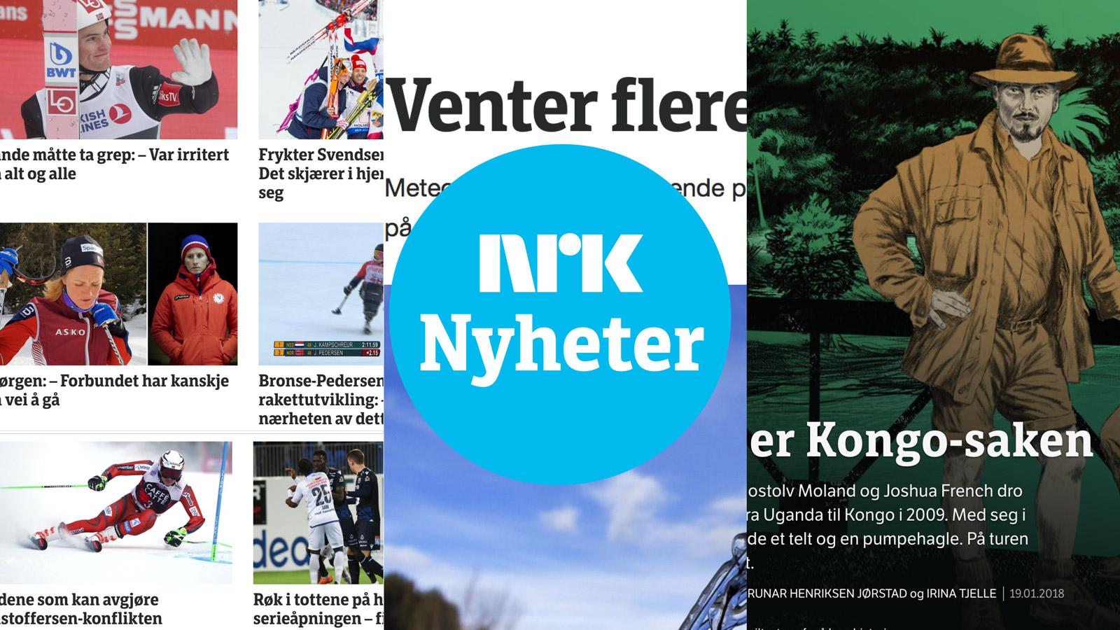 NRK custom font