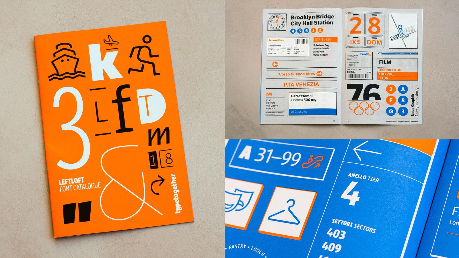 Leftloft font catalogue