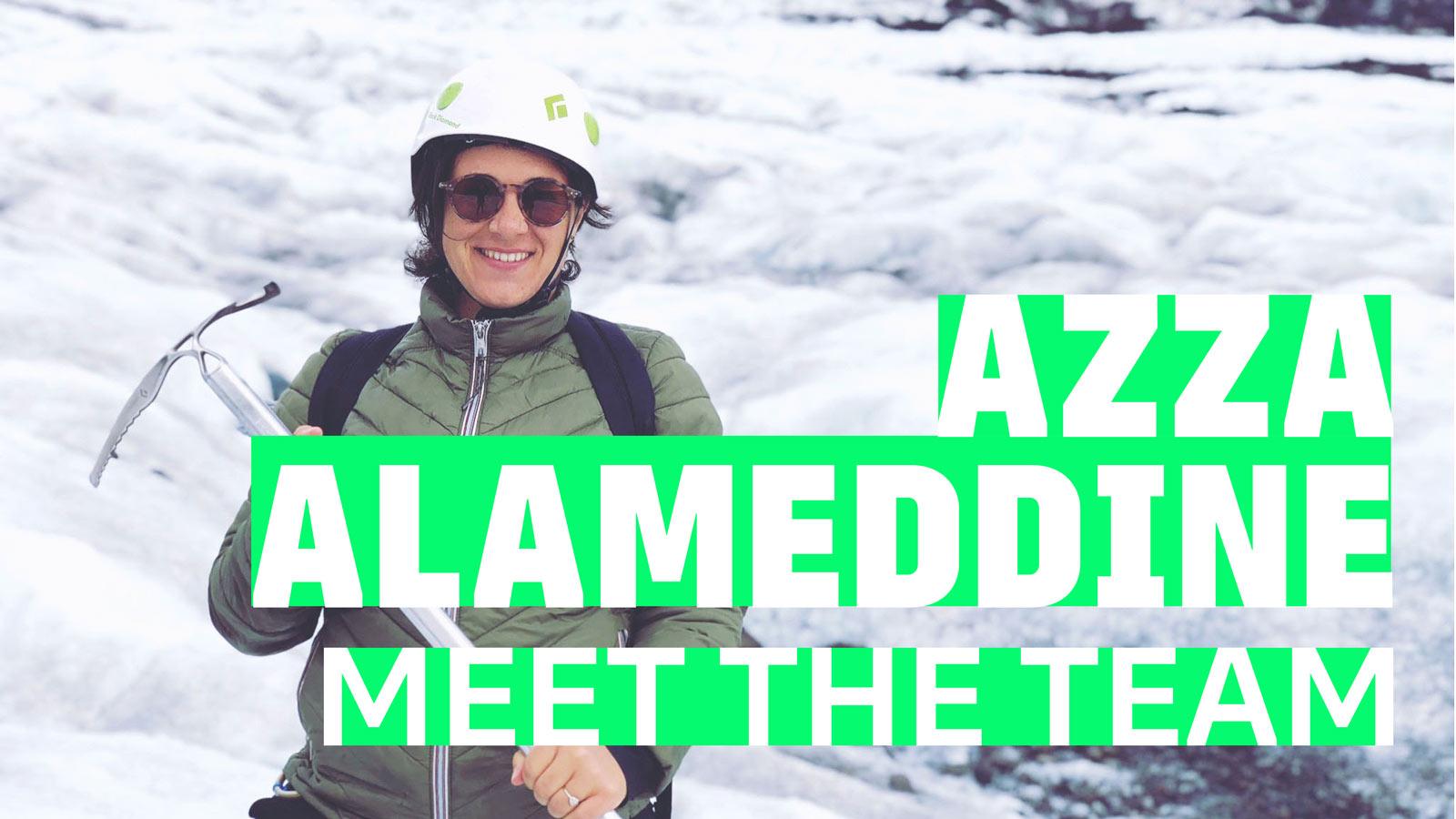 Azza Alameddine, type designer