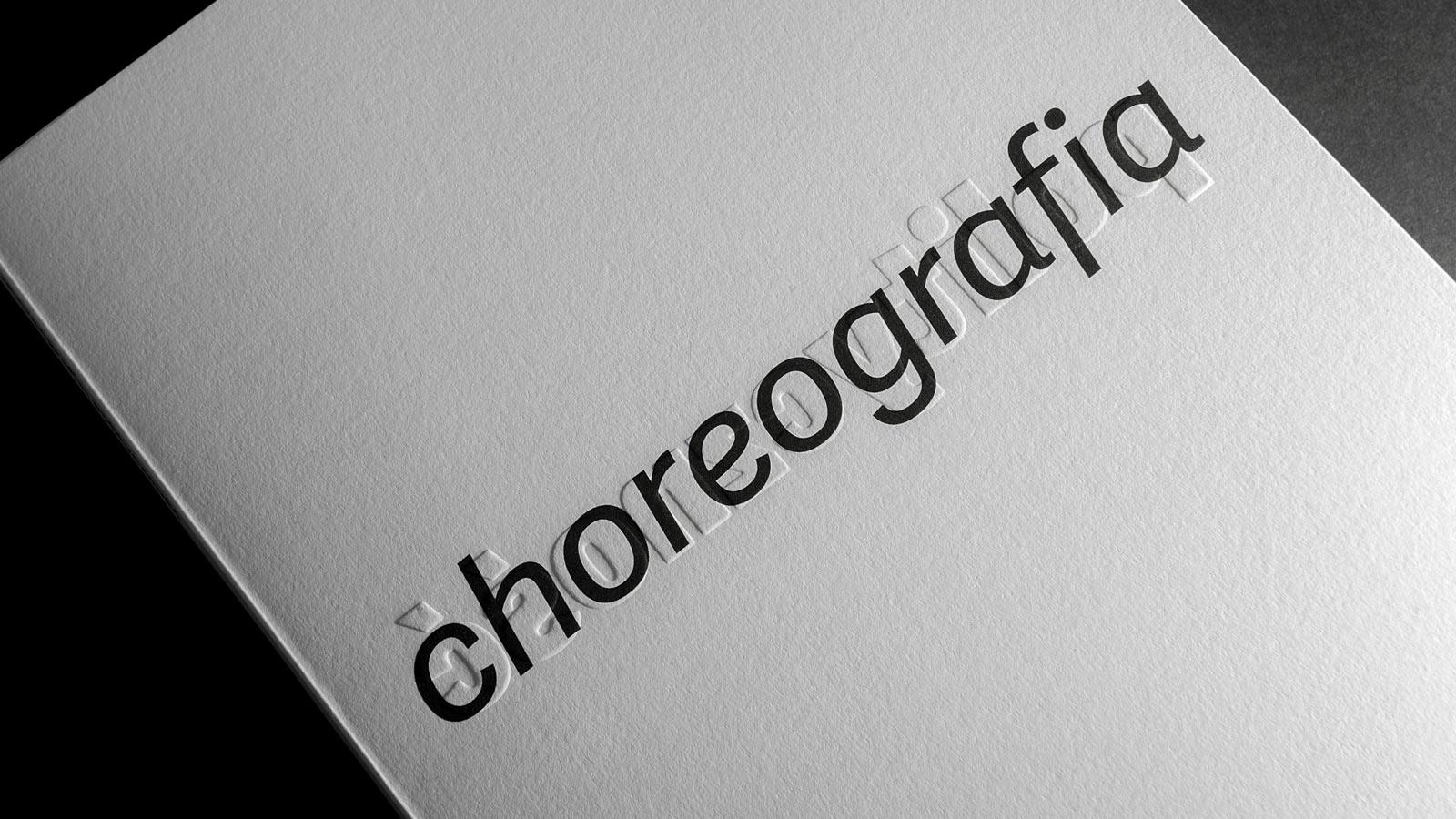 Type in use: Adelle Sans in Choreografia