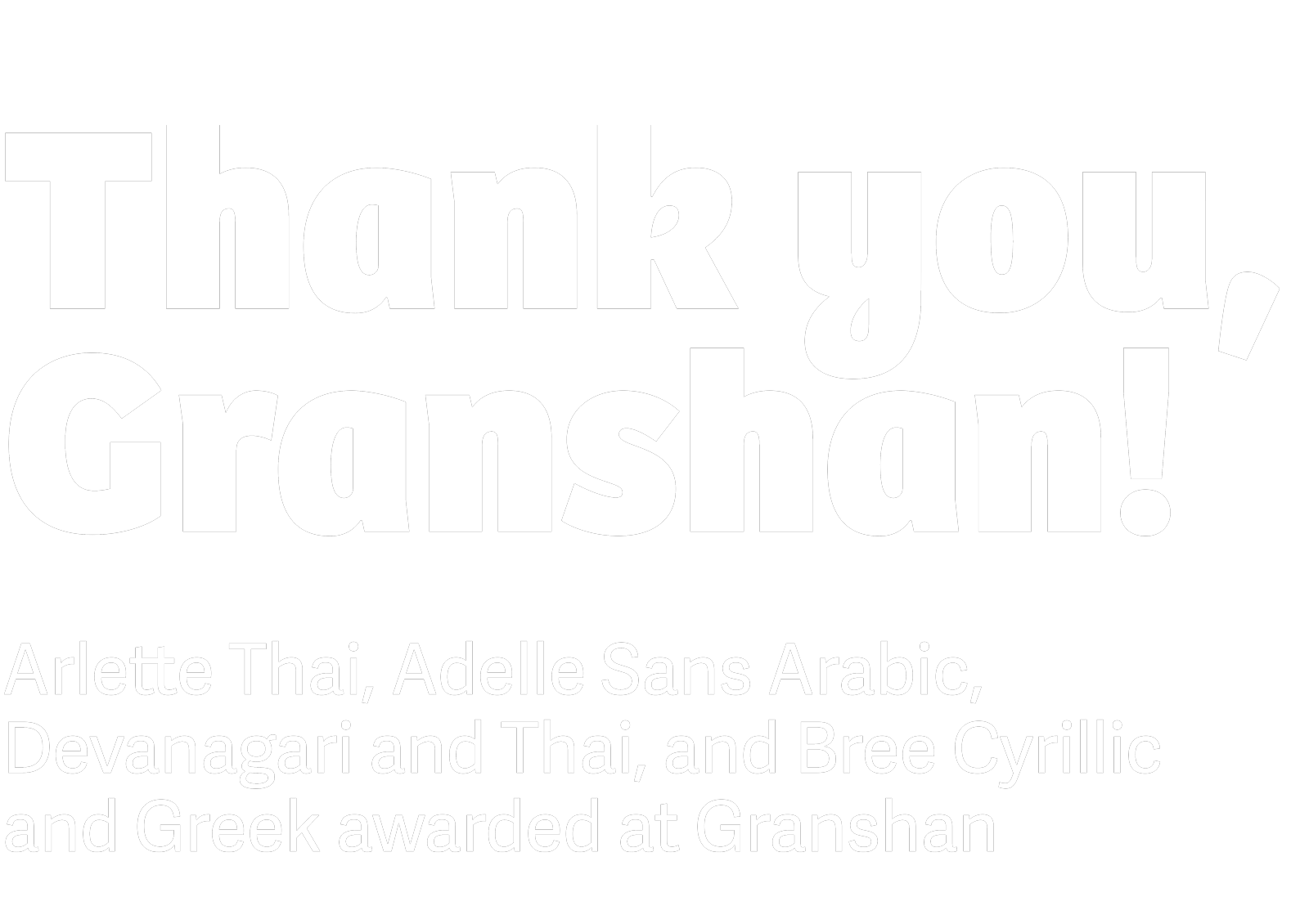 Arlette, Adelle Sans and Bree in Granshan Awards