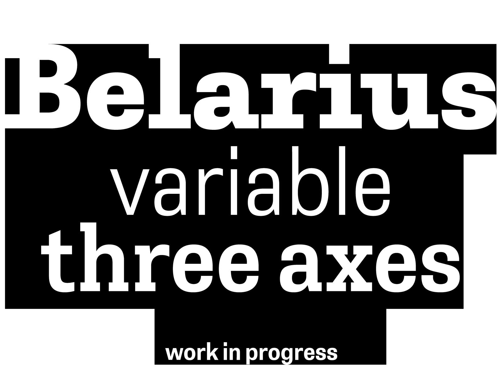 Work in progress: Belarius