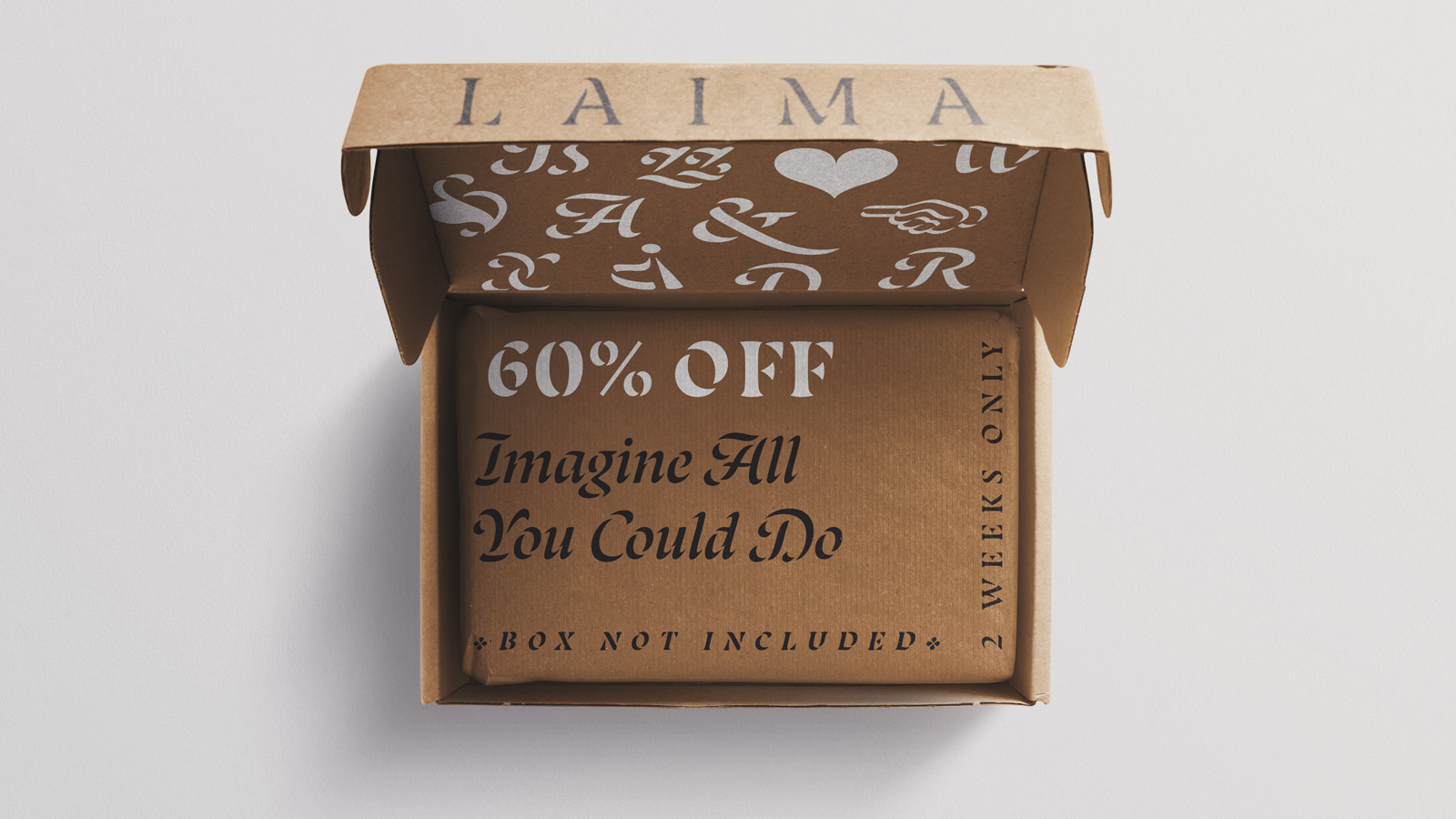 Laima black in progress, awards and discount