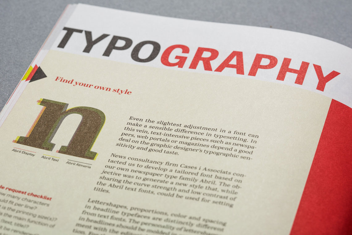 Typography Made to Fit - TypeTogether | High quality fonts