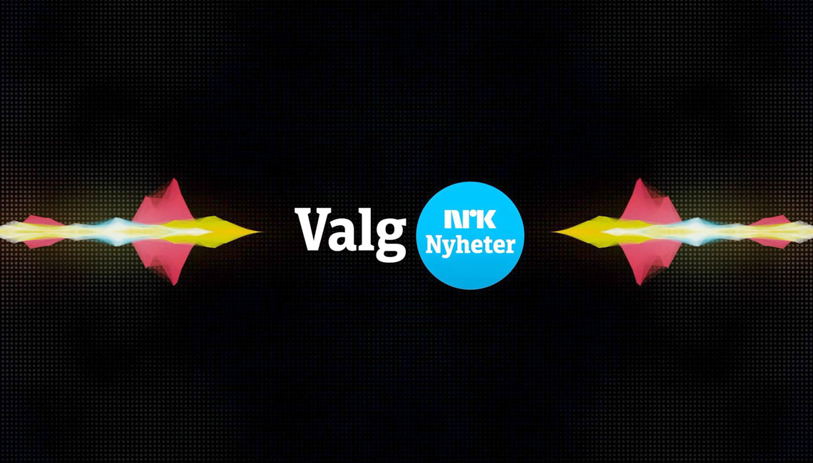Logotype design for the NRK TV channels