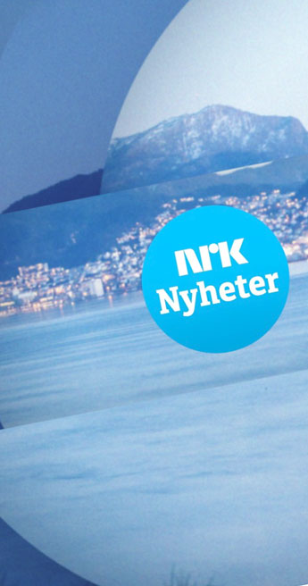 Custom Font for Norwegian public TV station - NRK Logotype by Typetogether