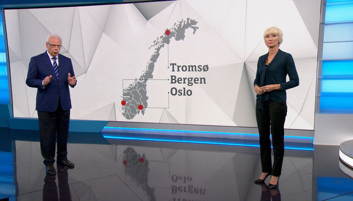 Norwegian public TV station, NRK, commissioned TypeTogether to create a tailored typeface for their new branding