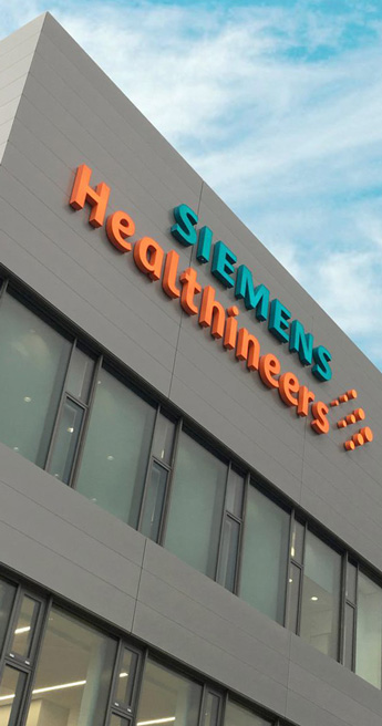 Custom Font for  - Siemens Healthineers by Typetogether