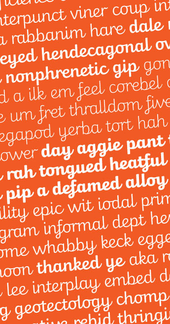 Custom Font for for Twinkl Ltd. - Twinkl Cursive by Typetogether