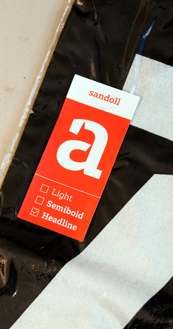 Custom Font for Custom type for Korean type foundry, Sandoll - Sandoll Slab Serif by Typetogether