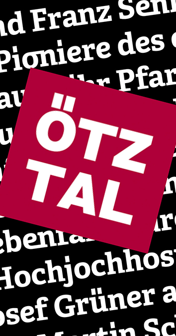Custom Font for  - Ötztal tourist board by Typetogether