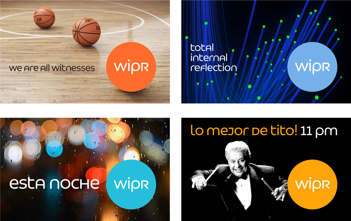 A custom typeface for broadcasting and branding