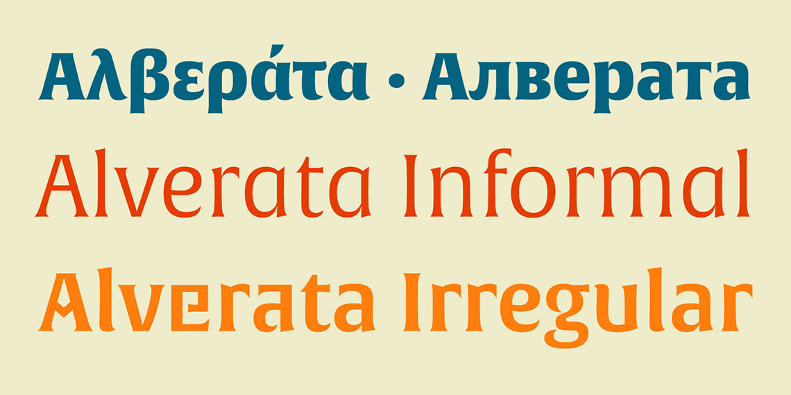 The story behind Alverata | TypeTogether