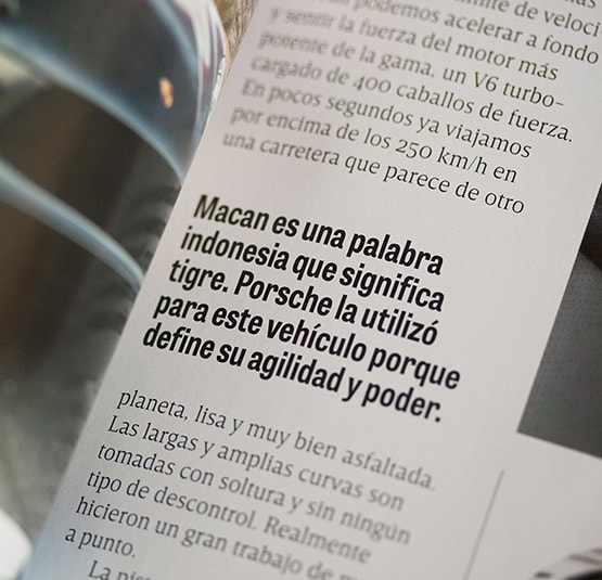 Tablet Gothic in GQ Mexico | TypeTogether