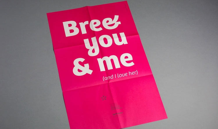 Bree 'I Love Her' Poster