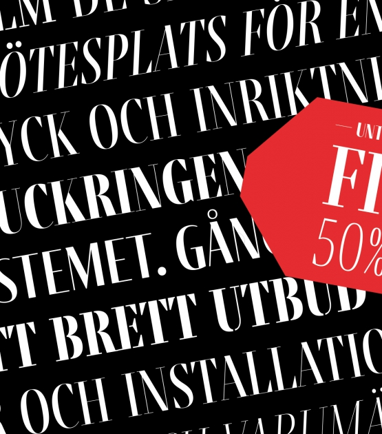 50% off in Fino until Boxing day!
