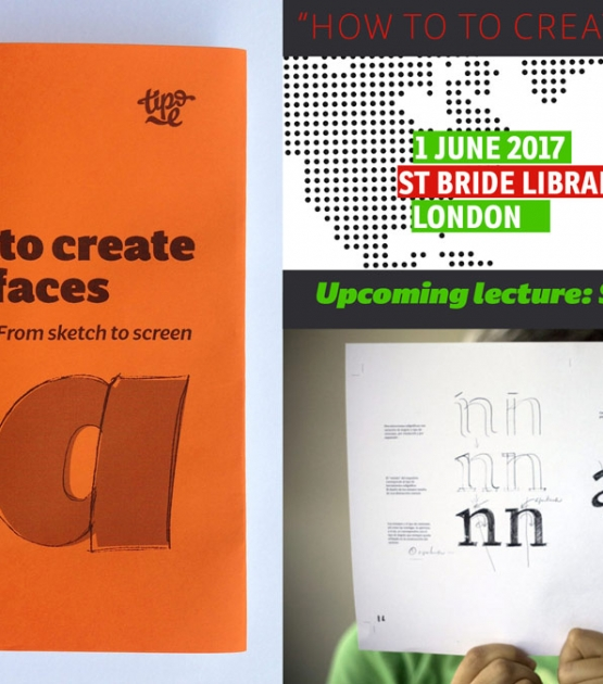 How to create typefaces: book launch